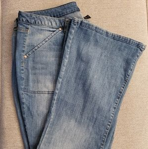 Lane Bryant Boot Cut/Flared jeans.  Size 20 Reg